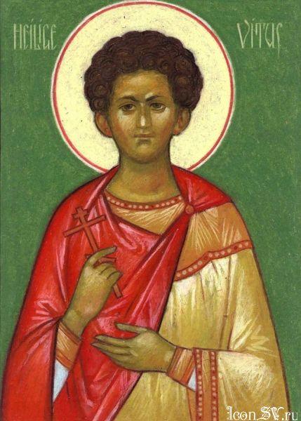 Свети мученици Вит, Модест и Крискентија