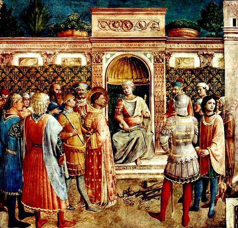 Свети мученик Харитон, Харита, Евелпист, Јеракс, Пеон, Валеријан и Јуст