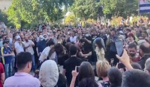 Грузијци славе отказивање ЛГБТ марша (видео)