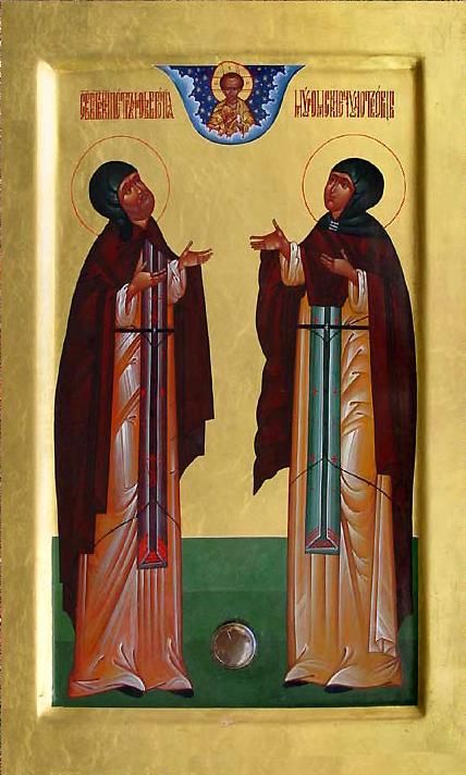 Свети кнез Петар-Давид и књегиња Февронија-Ефросинија, муромски чудотворци
