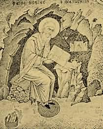 Свети преподобни Исаија Отшелник