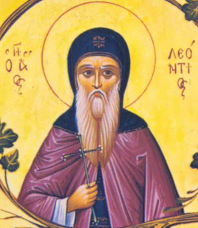 Свети преподобни Леонтије прозорљиви