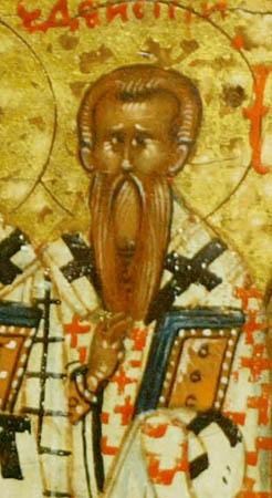 Свети Теодор, епископ едески, и други с њим