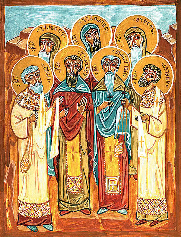 Преподобномученици Геронтије, Серапион, Герман, Висарион, Михаило, Отар и Симон (1851)