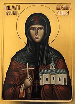 Света преподобна мајка Ангелина, деспотица српска
