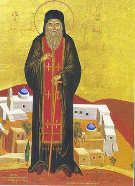 Свети преподобни Арсеније пароски