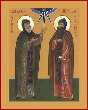 Пренос моштију преподобних Сергија и Германа, Валаамских чудотвораца