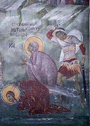Света мученица Васса, и деца њена