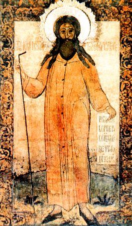 Свети преподобни Јован Власати, Христа ради сулудог