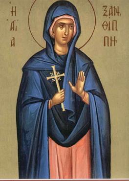 Света преподобна Ксантипа