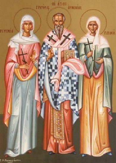 Свете мученице Гајанија, Рипсимија и осталих тридесет пет монахиња