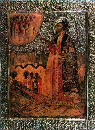 Свети Михаил, кнез, и Теодор, бољарин