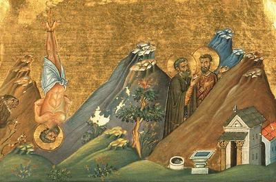 Свети мученик Зосим пустињак