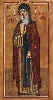 Свети Онуфрије, чудотворац Гаресјански
